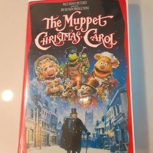 The Muppets Christmas Carol VHS